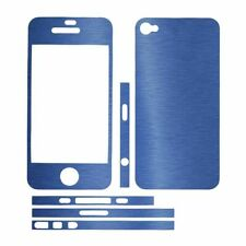 Sticker autocollant aspect alu brossé 3D skin pour Sticker Iphone 4S