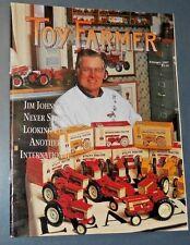 THE TOY FARMER MAGAZINE FEB 1997 MODEL SNOWMOBILES 1942 CHEVROLET TRUCK 1/32