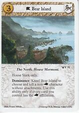Bear Island AGoT LCG 1.0 Game of Thrones Ancient Enemies 31