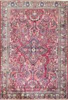 """Fine 3'3"""" x 5'3"""" Persian Antique Sarouk rug, c-1920, Excellent Condition #11787"""