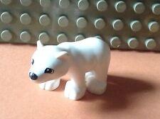 LEGO DUPLO @@  ANIMAL @@ ZOO FERME @@ LE BEBE OURS POLAIRE @ THE BABY POLAR BEAR