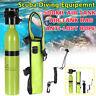 Portable Diving Mini Scuba Cylinder Oxygen Tank Underwater Breath Equipment Set