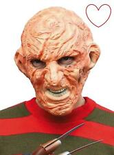 Freddy Krueger Face Mask Halloween Nightmare on Elm Street Freddie