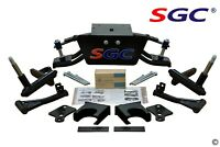 """SGC 6"""" Double A-Arm Lift Kit for Club Car DS Golf Cart 2004.5-UP Electric/Gas"""