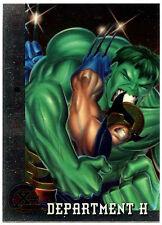 Department H #83 Fleer Ultra X-Men Chrome Trade Card (C291)