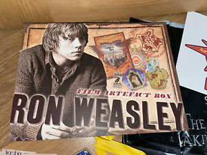 Ron Weasley Film Artefact Box Harry Potter