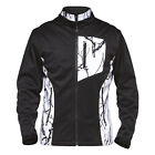 Snow Camo Soft Shell Jacket Black White Size XSmall OR Small