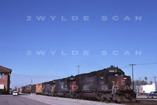 Orig Slide Southern Pacific 8309 Sd40T-2 1988 leads 2 tunnel motors