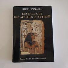 Dictionnaire Des dieux et des mythes égyptiens Roland HARARI Gilles LAMBERT 2002