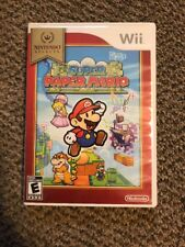 Super Paper Mario (Nintendo Wii) Complete W/inserts (13S)