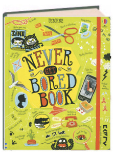 Usborne Activity Journals Never Get Bored Book (IR)(Hardcover) FREE shipping $35