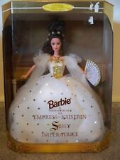 Barbie Doll as Empress Sissy NRFB #15846 Mattel 1996 Kaiserin Imperatrice