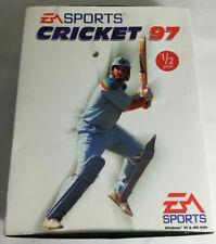 Vintage PC Game - Cricket 97 EA Sports - Jewel Case with big box Windows 95/DOS