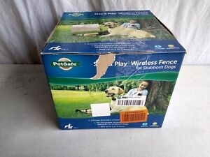 PetSafe Stay & Play Wireless Invisible Electric Pet Fence for Stubborn Dogs