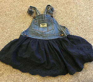 Oshkosh Bgosh Girls Denim Dress 12-18 Months