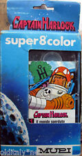 1978 TOYS MUPI Super 8 Color CAPITAIN HARLOCK n°1-il Mondo Sperduto-in scatolo