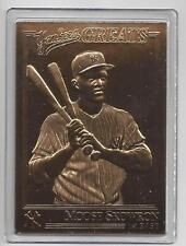 Moose Skowron 2003 Danbury Mint Yankee Greats Sealed 22 kt Gold Card-100 Years