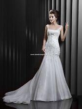 BNWT ENZOANI BEAUTIFUL BT13-16 WEDDING GOWN DRESS SZ 22 IN IVORY *RETAIL $1350*