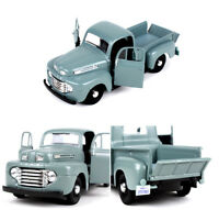 1/24 Scale Maisto Light Blue 1948 Ford F-1 Pickup Vehicle Car Model Toy Gift