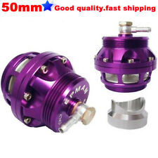 Purple 50mm BOV Turbo Adapter Blow Off Valve with Aluminum flange for VW