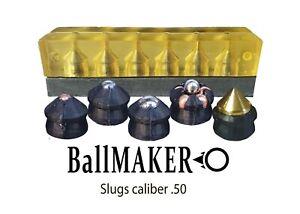 Yellow BallMAKER MOLD making SLUGS cal. 50 fur HDR 50 RAM T4E better slug maker