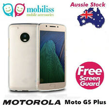 TPU Gel Jelly Case Cover for Motorola Moto G5 Plus/X 2017 Clear + SP