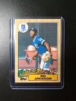 1987 Topps Bo Jackson Future Stars Rookie Rc Kansas City Royals