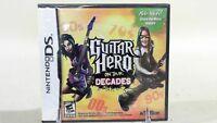 Guitar Hero: On Tour Decades (Nintendo DS, 2008)