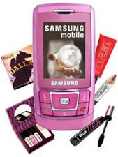Samsung d900i pink (sans simlock) 3mp radio quadband mp3 Bluetooth raritätt OVP