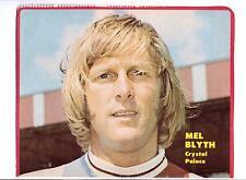 Mel Blyth Crystal Palace 1968-1975 original main signé photo découpe