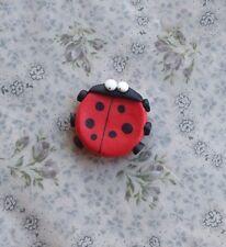 ladybird Fridge magnet Handmade Cute Party Bag Gift