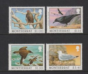 Montserrat - 1997, Heft Scavengers Of The Sky, Vögel Set - MNH - Sg 1029/32