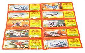 10/100 X Styroporflieger Styroporflugzeuge 20CM Flugzeug Spielzeug Gleiter Segel