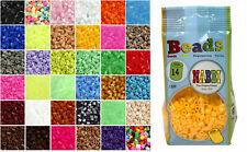 Nabbi Bügelperlen Beutel mit 1100 Stück, midi / medium, Farbwahl