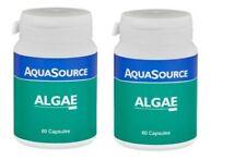 AquaSource Algae 2 X 60 Veg Caps - Blue Green Algae