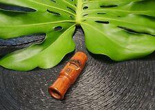 SOLID BRAZILIAN JATOBA WOOD SAMBA/BIRD CALL WHISTLE #21