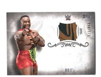 WWE Big E 2016 Topps Undisputed Event Worn Shirt Relic Card SN 80 of 175
