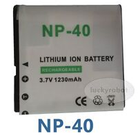 NP-40 NP40 RECHARGEABLE DIGITAL CAMERA BATTERY FOR Casio Exilim Pro EX-P505