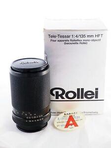 Rollei HFT Tele-Tessar 135 mm f/4 QBM lens