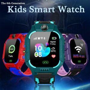 New Kids Tracker Smart Watch Phone GSM SIM Alarm Camera SOS Call for Boys Girls