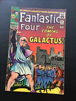 Marvel comics Fantastic four 48 1st Appearance Galactus Silver surfer.