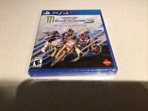 Monster Energy Supercross  3 (PS4, 2020) PlayStation Brand New Sealed