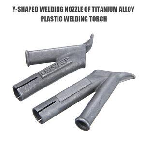 5.2mm/8mm Coving Floor Speed Welding Nozzle For Plastic Leister Vinyl Welder