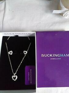 Buckingham Jewellery Set New