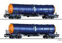 Kesselwagen Set Wascosa - 502141 von Tillig - H0 - NEU in OVP