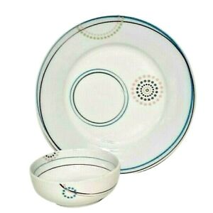 Livliga 2 Piece Just Right Bariatric Dish Set Dinnerware For Weight Loss