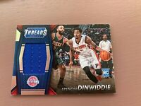 Spencer Dinwiddie Rookie Patch Card: 2014-15 Panini - Threads