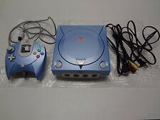 Sega Dreamcast System Pearl Blue Limited + 1 game Japan LOOSE
