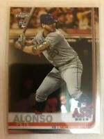 PETE ALONSO 2019 Topps Chrome Update RC Rookie ASG Card #86  New York METS