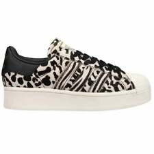 Adidas Superstar смелые леопард платформа женские кроссовки повседневные-черный